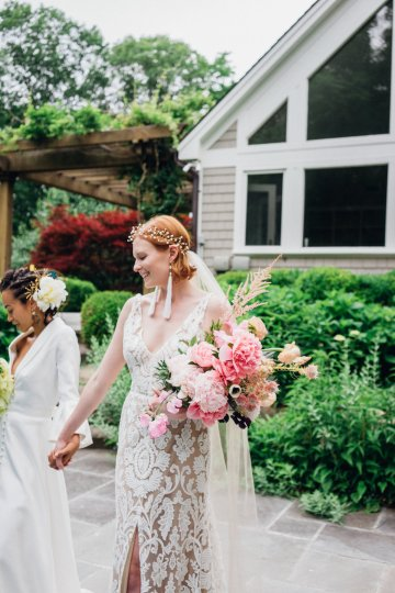 High Style; Luxurious Weed Wedding Ideas | Claire Eliza | High Herstory | Sarah Seven 42