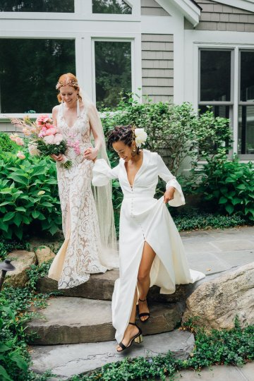 High Style; Luxurious Weed Wedding Ideas | Claire Eliza | High Herstory | Sarah Seven 44