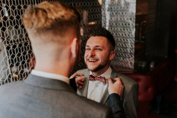 Industrial Copper Cocktail Bar Groom Inspiration | Joasis Photography | ByChenai 2