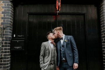 Industrial Copper Cocktail Bar Groom Inspiration | Joasis Photography | ByChenai 3