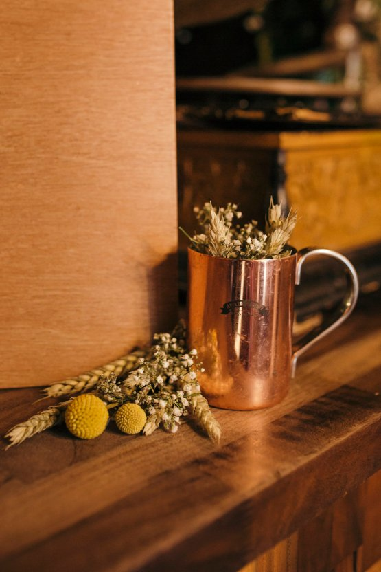 Industrial Copper Cocktail Bar Groom Inspiration | Joasis Photography | ByChenai 30