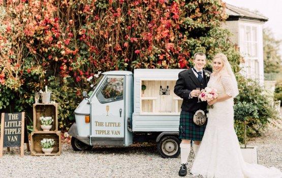 Intimate & Idyllic Wales Country House Wedding
