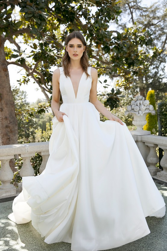 Jenny by Jenny Yoo's Fresh and Totally Modern Wedding Dress Collection | Spencer 5