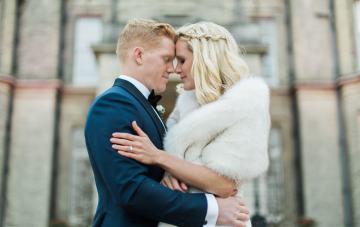 Luxurious British Wedding With Great Gatsby Vibes