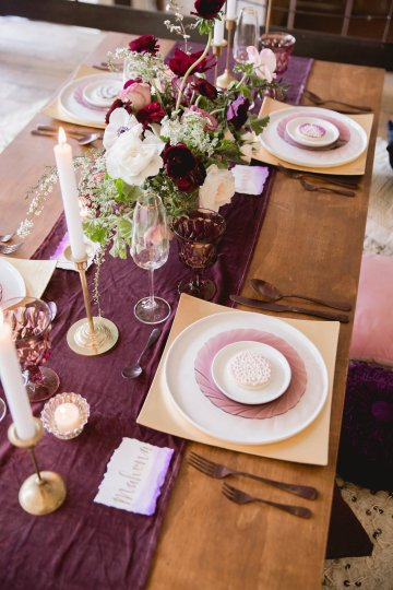 Multicultural Purple and Gold Bollywood Wedding Inspiration – Willow and Ivy Events – Zainab Rikabi 10