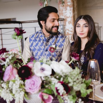 Multicultural Purple and Gold Bollywood Wedding Inspiration – Willow and Ivy Events – Zainab Rikabi 30