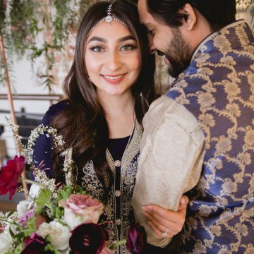 Multicultural Purple and Gold Bollywood Wedding Inspiration – Willow and Ivy Events – Zainab Rikabi 7