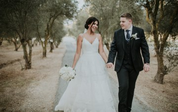 Romantic Cyprus Destination Wedding In An Olive Grove