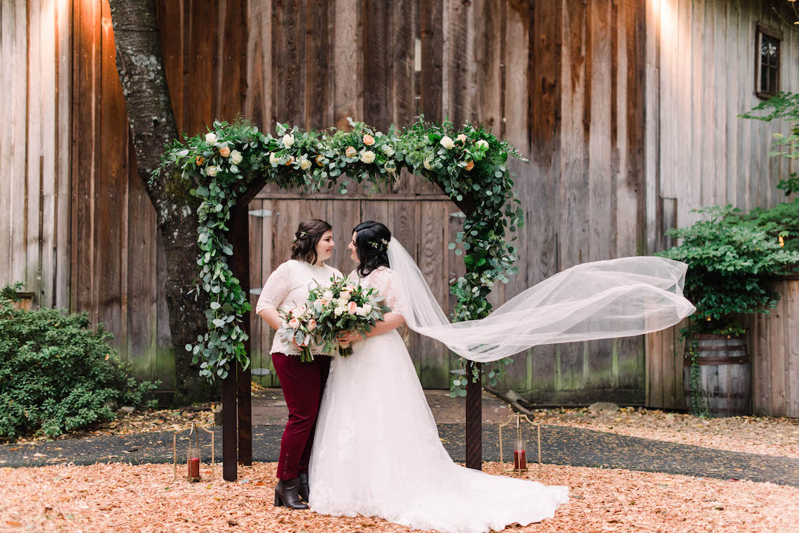 Rustic Barn Wedding Filled With Greenery   Deyla Huss Photography 4