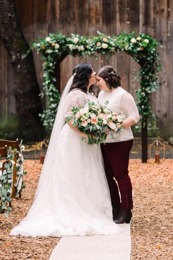 Rustic Barn Wedding Filled With Greenery   Deyla Huss Photography 41