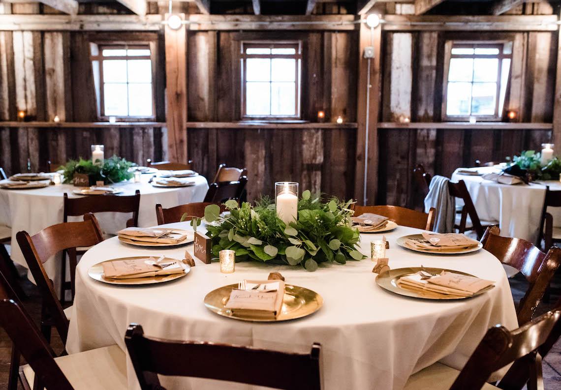 Rustic Barn Wedding Filled With Greenery   Deyla Huss Photography 6
