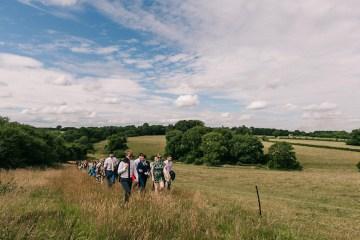 Rustic English Countryside Marquee Wedding | Babb Photo 10