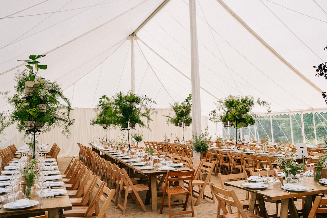 Rustic English Countryside Marquee Wedding | Babb Photo 2