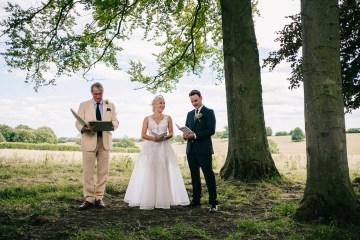 Rustic English Countryside Marquee Wedding | Babb Photo 5