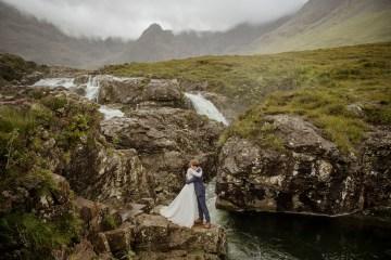 Wild & Adventurous Isle of Skye Elopement   Your Adventure Wedding 13