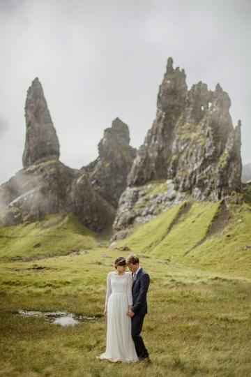 Wild & Adventurous Isle of Skye Elopement   Your Adventure Wedding 34