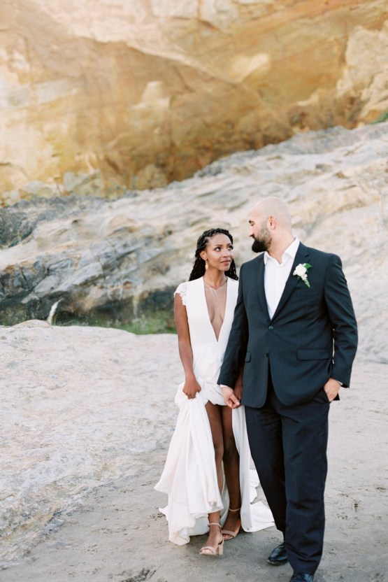 Blackberry and Pear Dreamy Beach Elopement Inspiration – Troy Meikle 28