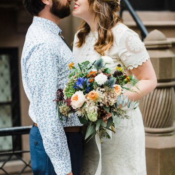 Country Western Meets Hip Brooklyn Elopement – Common Dove Photography 13