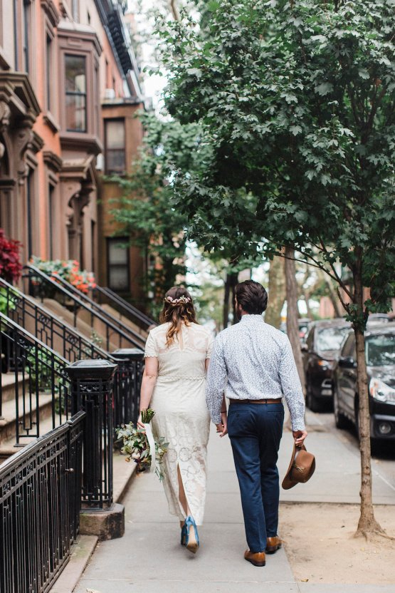 Country Western Meets Hip Brooklyn Elopement – Common Dove Photography 6