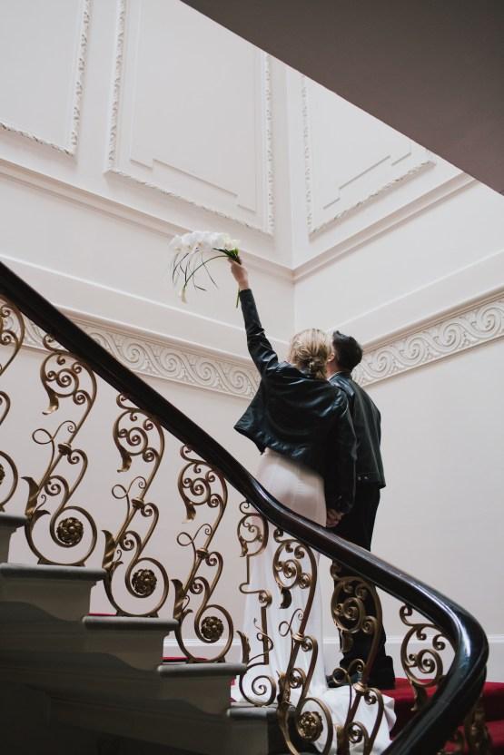 Modern Minimalistic London Wedding Inspiration – Blonde Army – Lisa Jane Photography 40