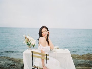 Organic and Foraged Romantic Puglia Wedding Inspiration – Lace and Luce 1