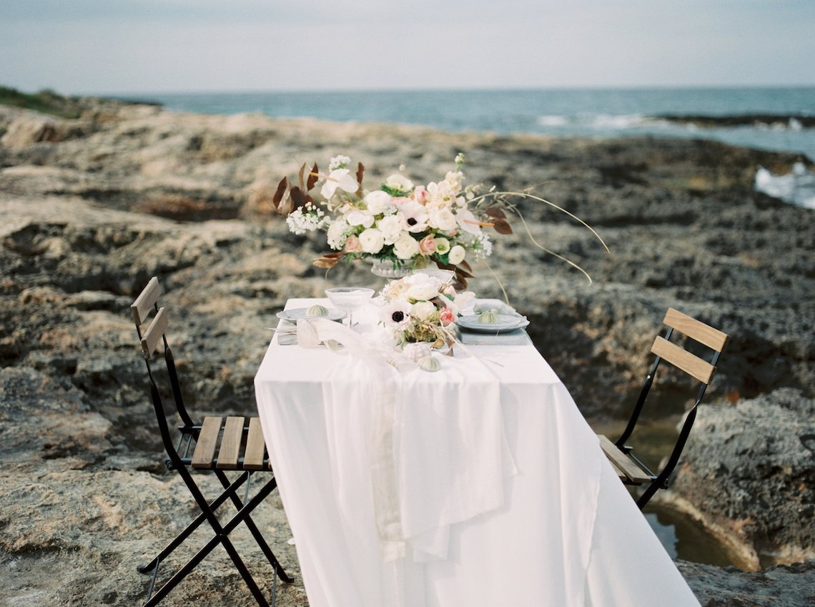 Organic and Foraged Romantic Puglia Wedding Inspiration – Lace and Luce 3