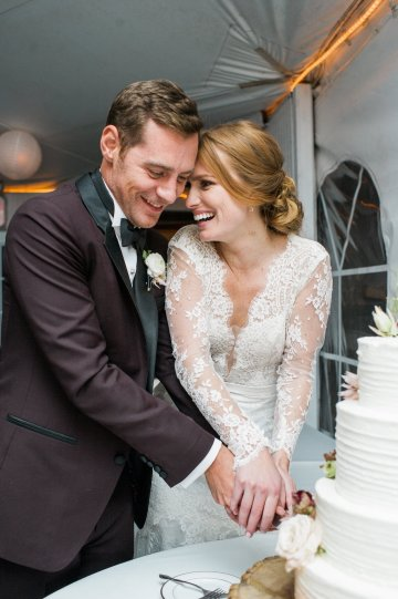Warm Fall Catskills Wedding With Ceremony Sparklers – Christina Lilly Photography – Buds of Brooklyn 57