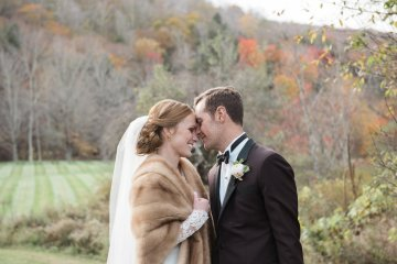 Warm Fall Catskills Wedding With Ceremony Sparklers – Christina Lilly Photography – Buds of Brooklyn 9