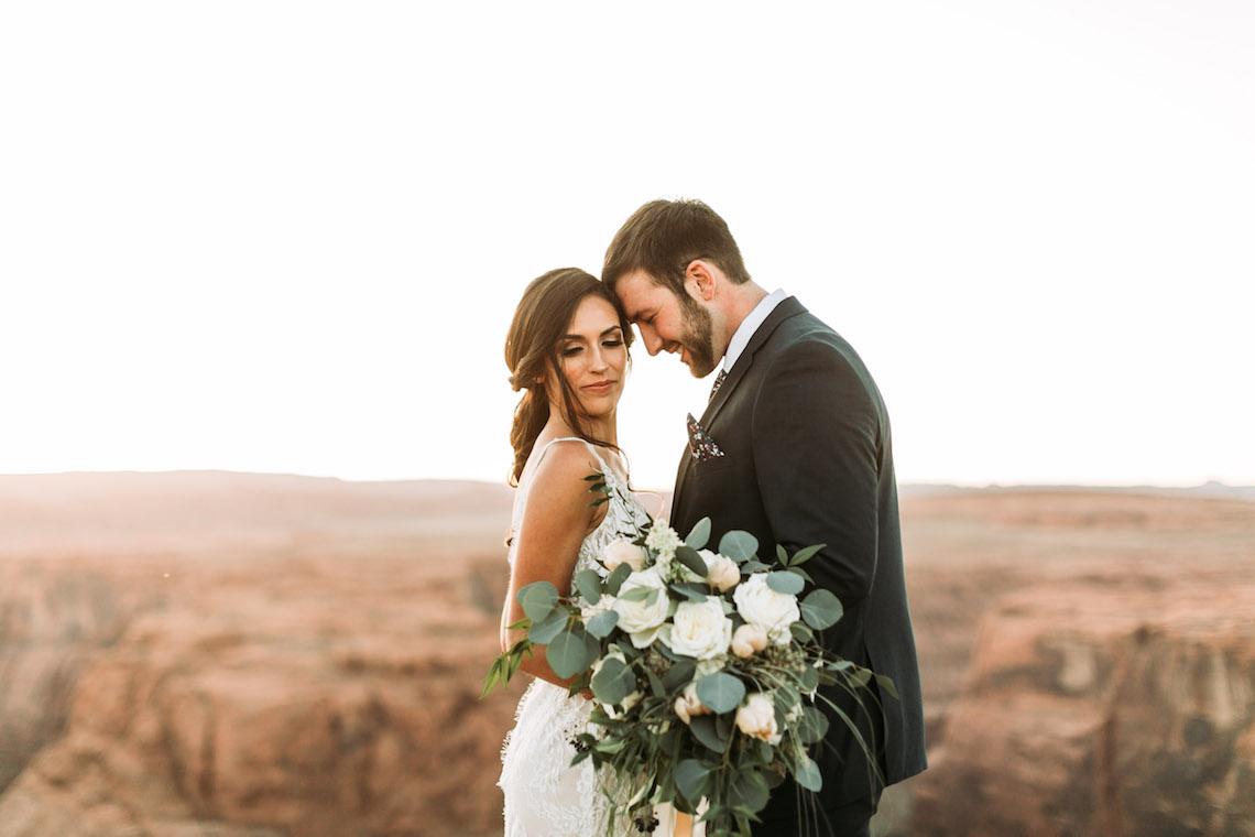 Wild and Bohemian Horseshoe Bend Wedidng Inspiration – Carmela Joy Photography – Luv Bridal 2
