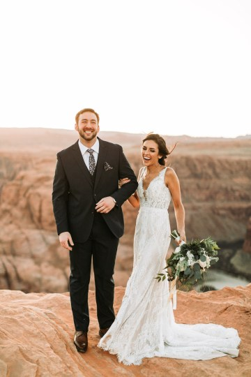 Wild and Bohemian Horseshoe Bend Wedidng Inspiration – Carmela Joy Photography – Luv Bridal 22