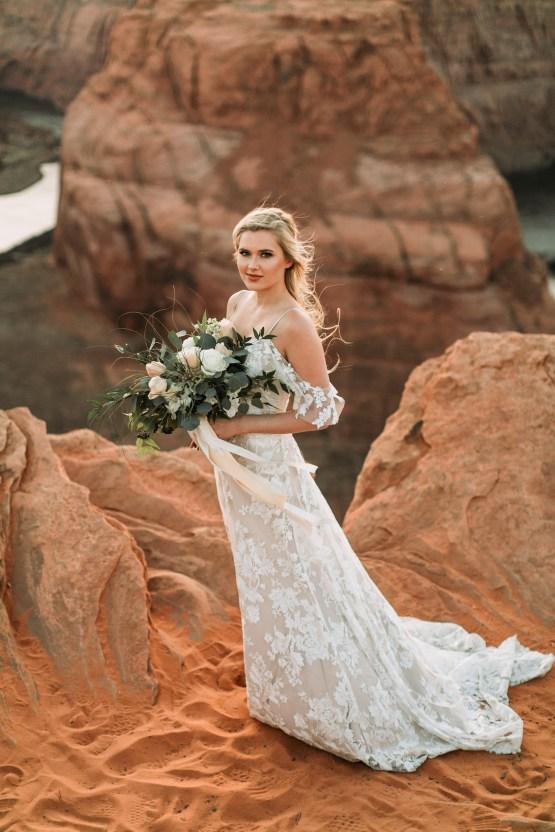 Wild and Bohemian Horseshoe Bend Wedidng Inspiration – Carmela Joy Photography – Luv Bridal 28