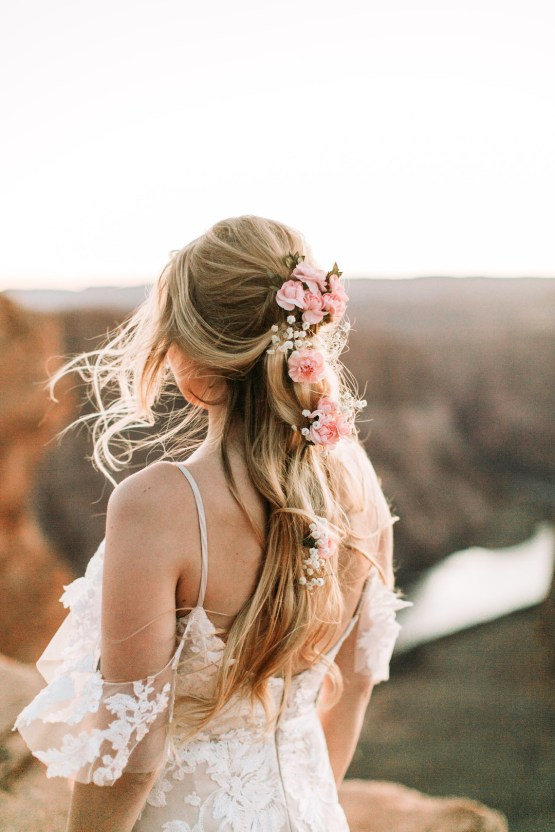 Wild and Bohemian Horseshoe Bend Wedidng Inspiration – Carmela Joy Photography – Luv Bridal 42