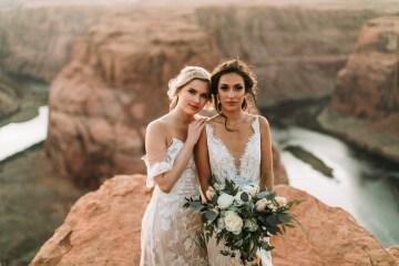 Wild and Bohemian Horseshoe Bend Wedidng Inspiration – Carmela Joy Photography – Luv Bridal 6