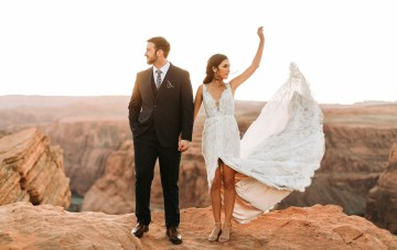 Wild & Bohemian Horseshoe Bend Wedding Inspiration