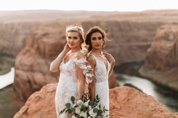 Wild and Bohemian Horseshoe Bend Wedidng Inspiration – Carmela Joy Photography – Luv Bridal 7