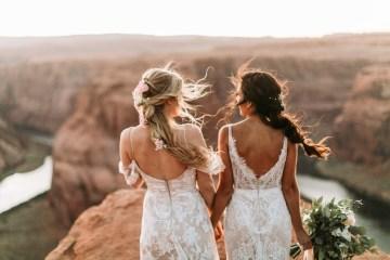 Wild and Bohemian Horseshoe Bend Wedidng Inspiration – Carmela Joy Photography – Luv Bridal 8