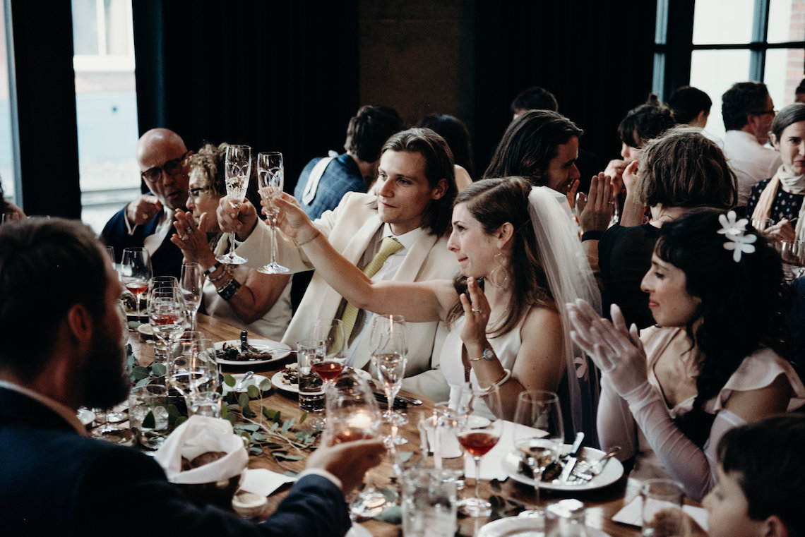All-White Portland Photo Studio Wedding – Davis Hilton 58