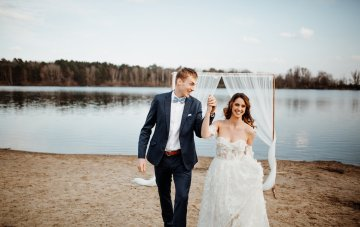Boho Beach Wedding Inspiration With Agate Ideas