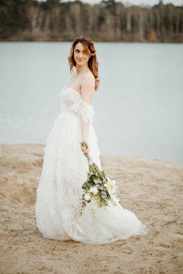 Beach Boho Wedding Inspiration With Agate Ideas – Stefanie Lange 31