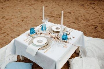Beach Boho Wedding Inspiration With Agate Ideas – Stefanie Lange 4