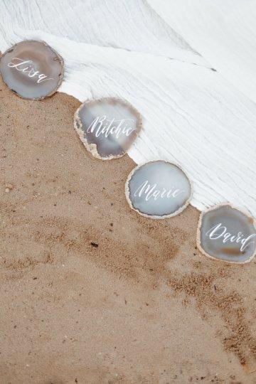 Beach Boho Wedding Inspiration With Agate Ideas – Stefanie Lange 45