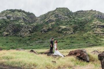 Colorful Hawaiian Boho Wedding Inspiration – Chelsea Stratso Photography 10