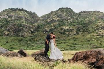 Colorful Hawaiian Boho Wedding Inspiration – Chelsea Stratso Photography 11