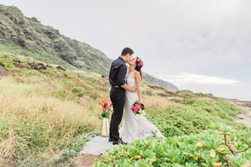 Colorful Hawaiian Boho Wedding Inspiration – Chelsea Stratso Photography 3