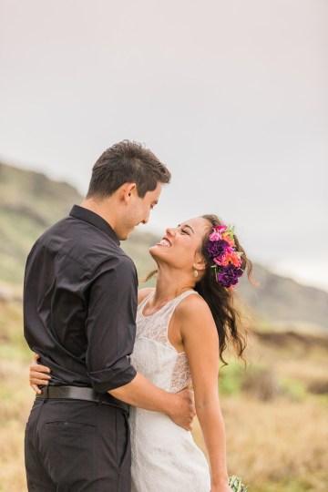 Colorful Hawaiian Boho Wedding Inspiration – Chelsea Stratso Photography 32