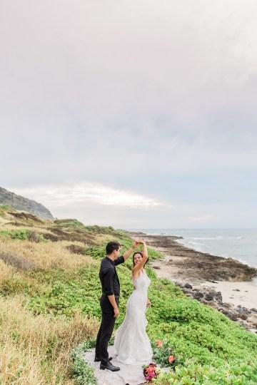 Colorful Hawaiian Boho Wedding Inspiration – Chelsea Stratso Photography 36