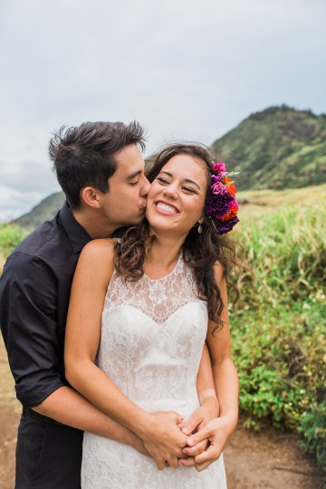 Colorful Hawaiian Boho Wedding Inspiration – Chelsea Stratso Photography 42