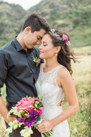 Colorful Hawaiian Boho Wedding Inspiration – Chelsea Stratso Photography 55