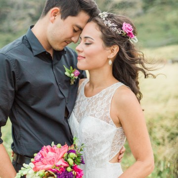 Colorful Hawaiian Boho Wedding Inspiration – Chelsea Stratso Photography 55