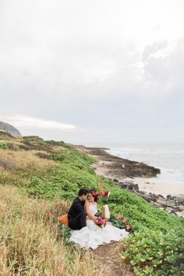 Colorful Hawaiian Boho Wedding Inspiration – Chelsea Stratso Photography 56